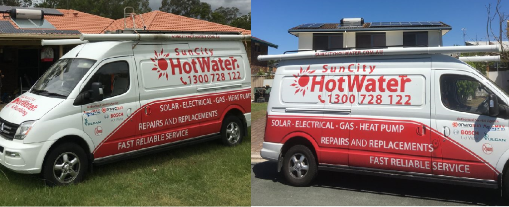 SunCity solar hot water heaters, rheem hot water systems Northern Rivers